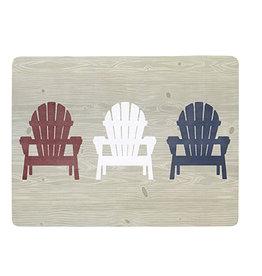 Harman Muskoka Chair Cork Backed Placemat S/4