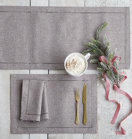 Harman Linen Look Napkin S/4