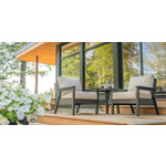 C.R. Plastic Products Tofino Slate Outdoor Chair