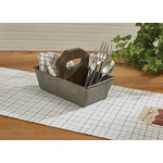 Park Design Utility Caddy With Wooden Handle