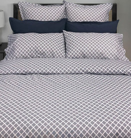 Cuddle Down Georgia Diamond Marine Euro Sham Set