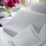Revelle Home Fashions Seersucker White Duvet Cover - Double