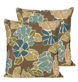 Candym Mimosa Mushroom Indoor/Outdoor Toss Pillow