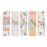 Danica Tea Towel - Bees & Butterflies