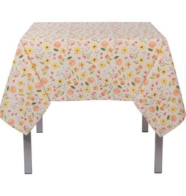"Danica Cottage Floral - 120"" Table Cloth"