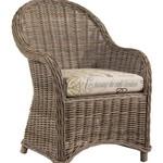 Designer Wicker Terrace Wicker Dining Chair