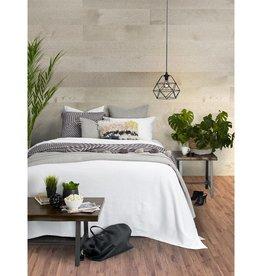 Brunelli Westmount White Blanket