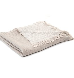 Brunelli Bloom Natural Throw