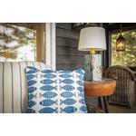 Indoor/Outdoor Fish Toss Pillow