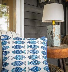 Custom - Hilltop Indoor/Outdoor Fish Toss Pillow