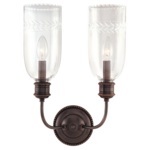 Hudson Valley Hudson Valley Lafayette Wall Sconce - Old Bronze