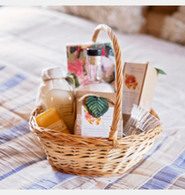 "Mother's Day Gift Basket ""Bathy Grapefruit"""
