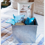 """(custom) Gift Basket """"Blue Afternoon"""""""