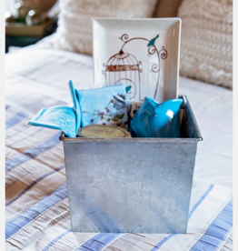 "(custom) Mother's Day Gift Basket ""Blue Afternoon"""