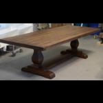 Old World Pedestal Dining Table