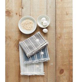 Harman Indie Stripe Tea Towel - Grey