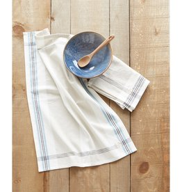 Harman Box Check Tea Towel - Dusty Aqua