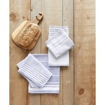 Harman Laguna Stripe Tea Towel S/2 - Grey