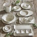 Tag ltd Veranda Ivory - Melamine Oval Platter