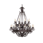 Currey and Company Gothic Chandelier