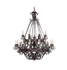 Currey & Co Currey and Company Gothic Chandelier