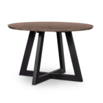 "Viva Round Dining Table - 47"" Sundried Ash"