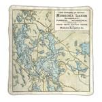 Lake Rosseau & Lake Joe Map Blanket