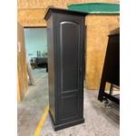 Raised Panel Armoire - Black
