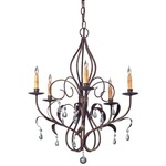Currey and Company Eden Chandelier