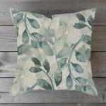 Braxton Culler Small Spa Leaf Toss Pillow