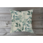 Small Spa Leaf Toss Pillow