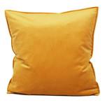 Dutch Velvet Toss Pillow - Mustard