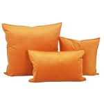 Dutch Velvet Toss Pillow - Amber