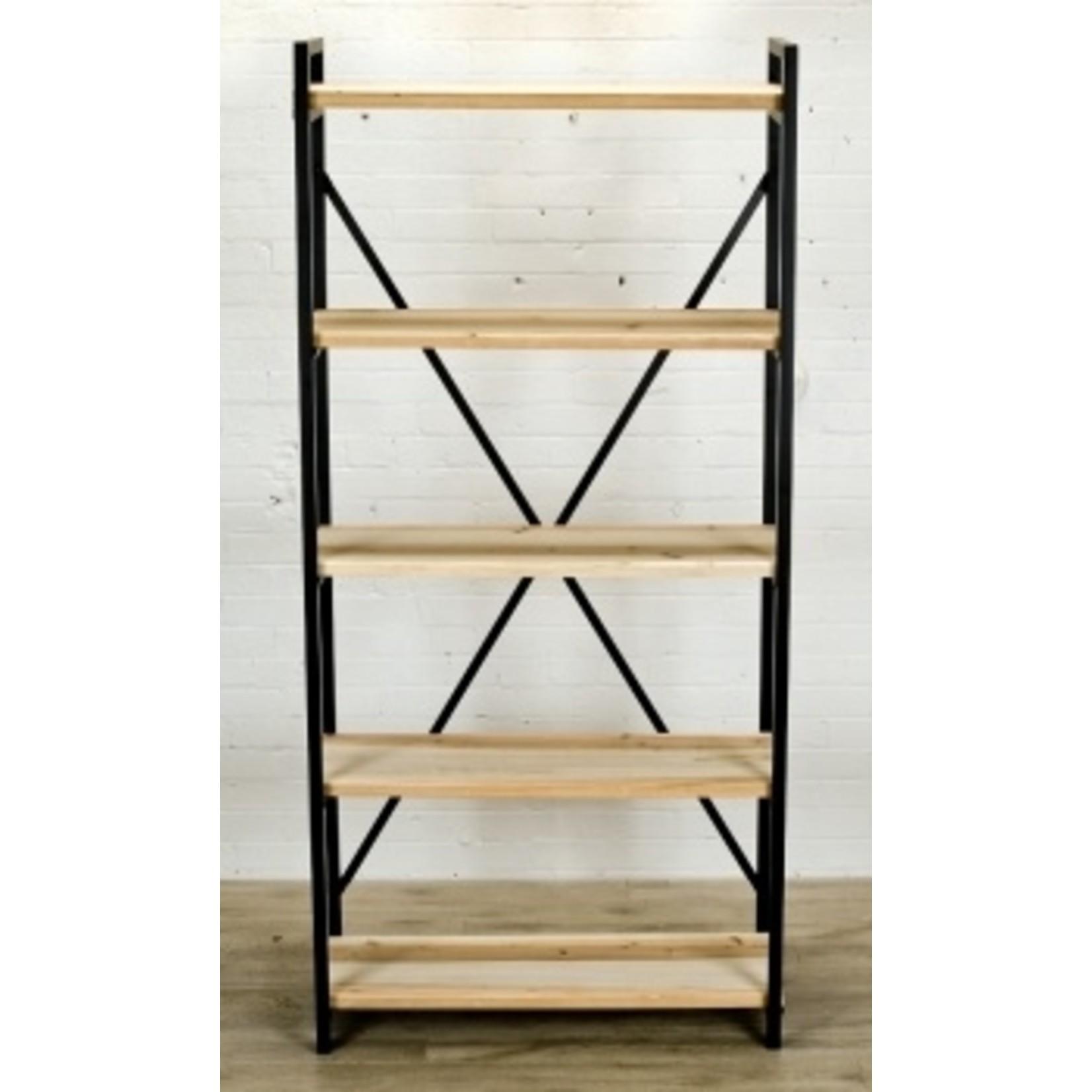 Iron & Wood Bookshelf