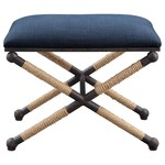 Firth Small Bench - Navy