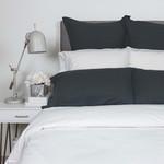 Velvet Flannel Charcoal Sheet Set - Queen