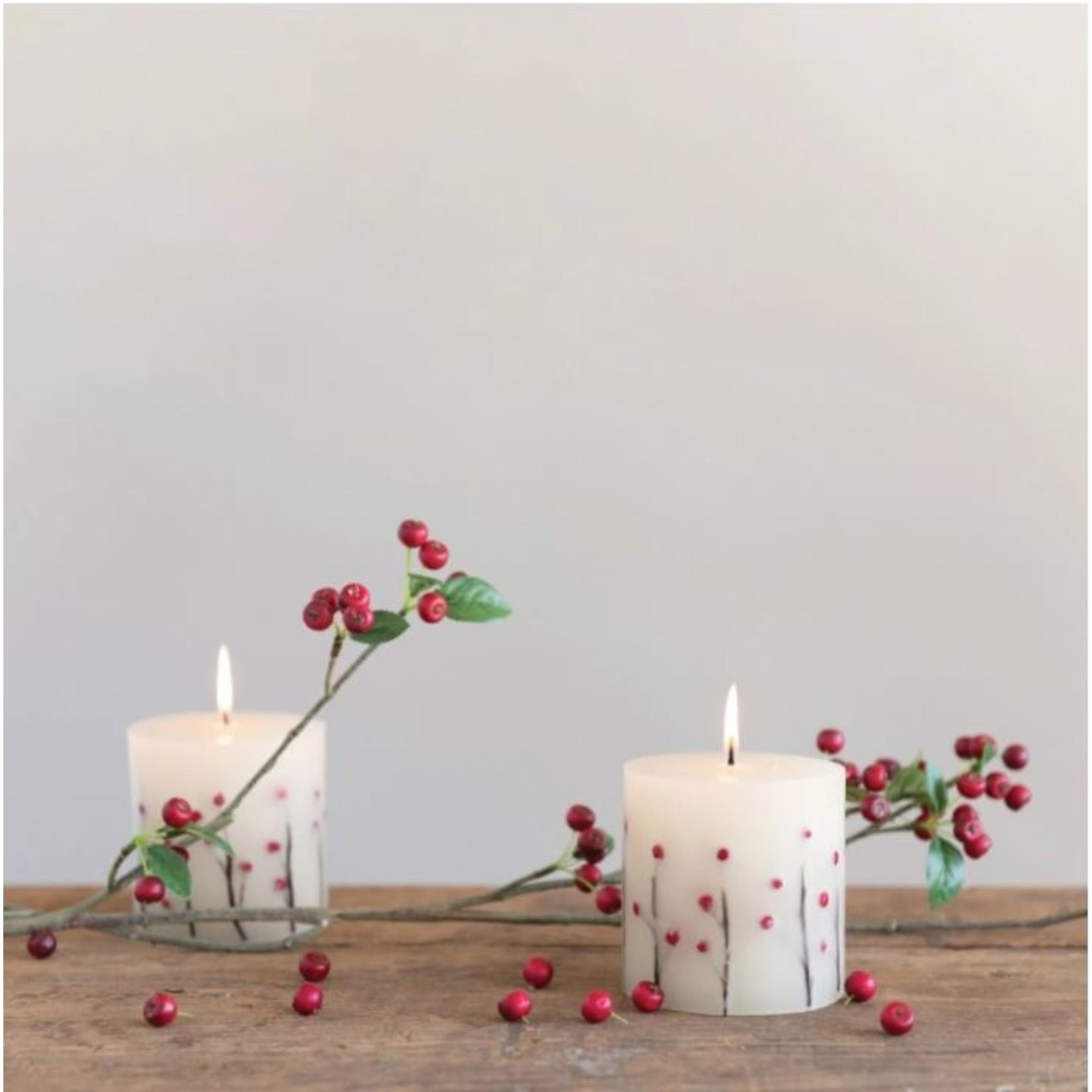 Berries & Cinnamon Candle - 4 x 4