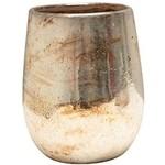 Antique Silver Terra-Cotta Vase