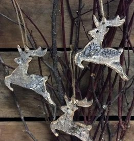 Tri W Imports Bagged Birch Deer 3pc