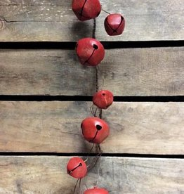 Red Jingle Bell Garland
