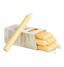 "Tag ltd 8"" Straight Candle, Ivory"
