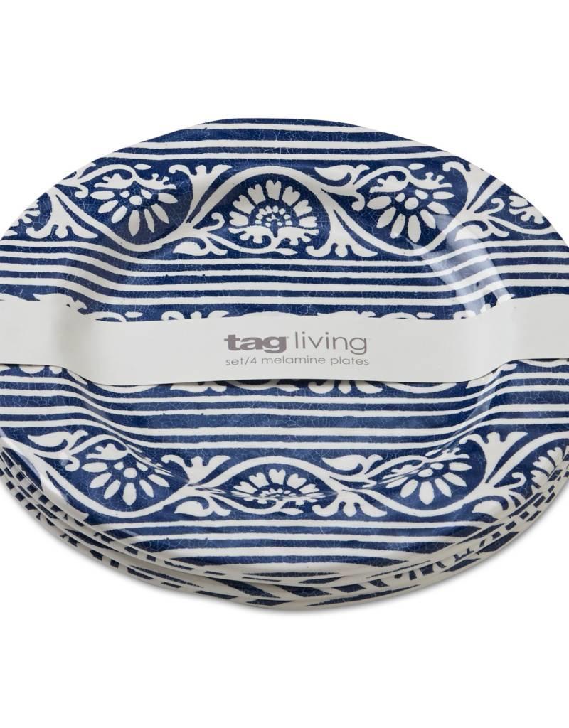 Design Home Artisan Melamine Salad Plate Set of 4