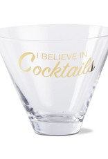 Tag ltd Believe Stemless Martini