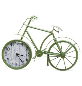 Tag ltd Bicycle Clock, Green