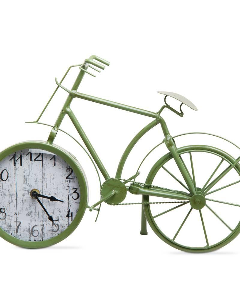 Tag ltd Bicycle Clock, Green
