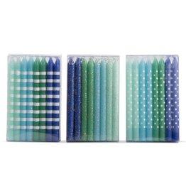 Tag ltd Blue & Aqua Dazzle Birthday Candles