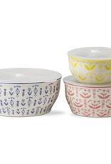 Tag ltd Delft Small Yellow Lidded Bowl