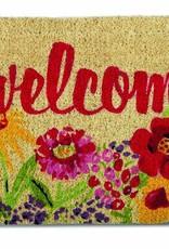 Tag ltd Fresh Flowers Coir Mat