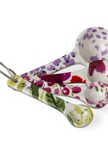 Tag ltd Fresh Flowers Measuring Spoons Set of 4