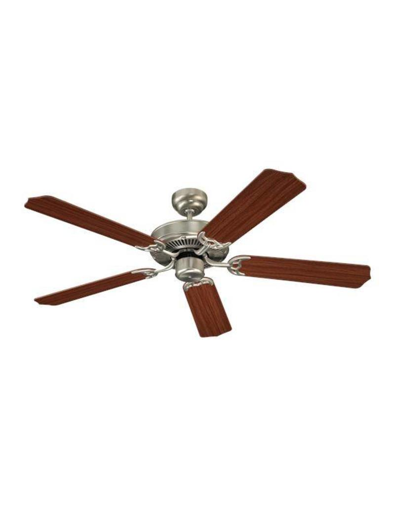 "Seagull Lighting Sea Gull 52"" Quality Max - Brushed Nickel Ceiling Fan"